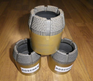 Surface Set NQ Wireline Core Drilling Bits For Mining Exploration , ISO9001 Approvals