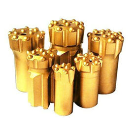 Button bits T38-76 golden color drilling for marble and granite stone