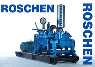 Chiny Blue Horizontal Three Cylinder Mud Pumps For Drilling Rigs RS-120-2 fabryka